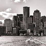 Boston Art Print by Olivier Le Queinec