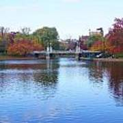 Boston Public Garden Lake Art Print