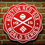 Boston Red Sox 1915 World Champions Art Print by Stephen Stookey