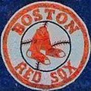 Boston Red Sox Art Print by Dan Sproul