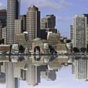 Boston Reflections Art Print