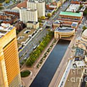 Boston Rooftops Art Print