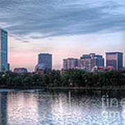 Boston Skyline IIi Art Print