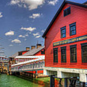 Boston Tea Party Museum 3 Art Print