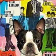 Boston Terrier Art - 30 Years Of Fun Movie Poster Art Print