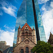 Boston Trinity Church Art Print