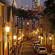 Boston View From Charlestown Art Print