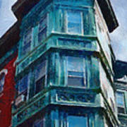 Boston's North End Art Print