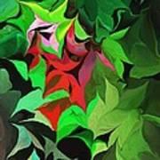 Botanical Fantasy 071613 Art Print