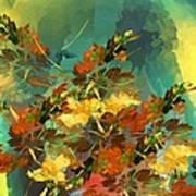 Botanical Fantasy 090914 Art Print