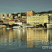 Botel Rijeka  Art Print