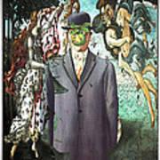 Botticelli Son-of-man 1  Art Print