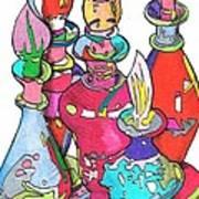 Bottle2010 Art Print