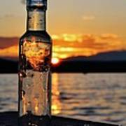 Bottled Sun Art Print