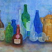 Bottles Collection Art Print