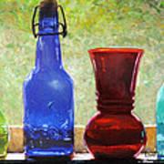 Da142 Bottles Of Time Daniel Adams Art Print