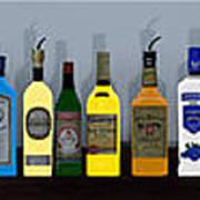 Bottles... Art Print