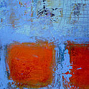 Bottom Orange Art Print