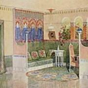 Boudoir, From A Villa In Helsinki Art Print