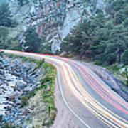 Boulder Canyon Drive And Commute Art Print