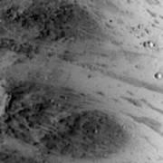 Boulder On Mars Art Print