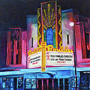 Boulder Theater Art Print