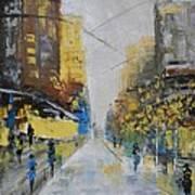 Boulevard Art Print