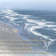 Boundaries Of Beaches Art Print