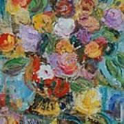 Bouquet 2 - Sold Art Print