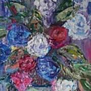 Bouquet 4 Art Print
