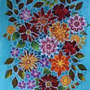 Bouquet Ala Tiffany Art Print