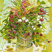 Bouquet Jaune - Original For Sale Art Print