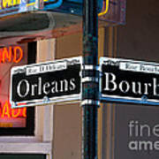Bourbon And Orleans Art Print