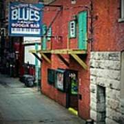 Bourbon Street Blues Art Print