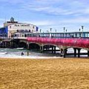 Bournemouth Pier Art Print
