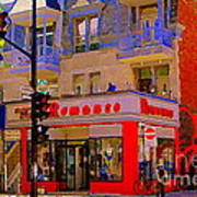 Boutique Erotique Romance Mont Royal The Love You Make Is Equal To The Love You Take City Scene Art Art Print