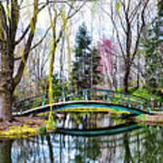Bow Bridge - Grounds For Schulpture Art Print