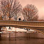 Bow Bridge Panorama Art Print