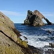 Bow Fiddle Rock In Scotland Art Print by John Kelly