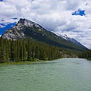 Bow River - Banff Art Print
