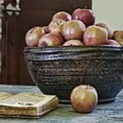 Bowl Of Apples Art Print