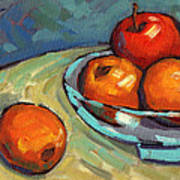 Bowl Of Fruit 2 Art Print