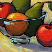 Bowl Of Fruit 5 Art Print