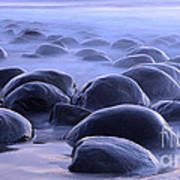 Bowling Ball Beach California Art Print