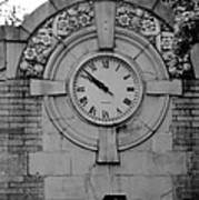 Bowling Green Time In Black And White Art Print