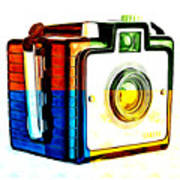 Box Camera Pop Art 3 Art Print