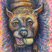 Boxer Buddy Art Print