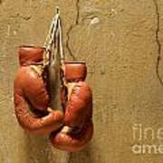 Boxing Gloves Art Print by Bernard Jaubert