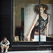 Boy Meets Girl Art Print