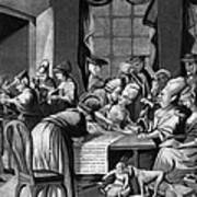 Boycott Of British Tea Art Print